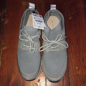 NEW Zara Gray/Silver Mesh Sneakers!